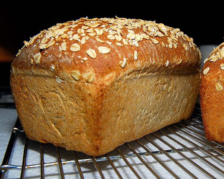 Oatmeal-Wheat Bread | Curbstone Valley